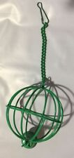 SUPERPET VEGGIE BASKET GREEN COLOR SMALL CRITTER BRAND NEW NO PACKAGING
