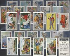 WOODS-FULL SET- ROMANCE OF THE ROYAL MAIL (25 CARDS) - EXC+++