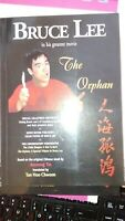 """BRUCE LEE """"THE ORPHAN"""" RARE OUT OF PRINT BOOK WITH  CERTIFICATE  AND DVD"""