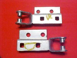 Ferrari Interior Door Handle Mounts 365 GT4 2+2 400i 412 NEW PAIR OEM