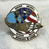 McNair Onizuka Resnik Scobee Smith Mcauliffe Jarvis Space Shuttle Pin NASA