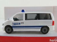 "Herpa 045742 Mercedes-Benz Vito Kombi (1999) ""THW Bühl"" in weiß 1:87/H0 NEU/OVP"