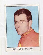 figurina PANINI CAMPIONI DELLO SPORT 1966-67 CICLISMO N. 267 DE ROO