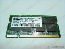66059 V826765G24SAJW-C0 1GB DDR-333MHZ-CL2.5 PC2700S-2533-1-Z0