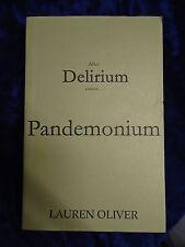 PANDEMONIUM by LAUREN OLIVER -  HODDER&STOUGHTON 2012-UK POST £3.25 - P/B*PROOF*
