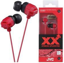 Auriculares rojos JVC de audio portátil