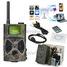 SunTek Hunting Wild Trail Camera Video Scouting Infrared Game HD 12MP MMS GPRS