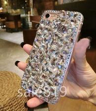 Luxury Rhinestone Bling Crystal Diamond PC Handmade Case Cover For Cell Phones