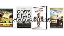 4 Pk God's Not Dead - What Do you Believe Flywheel - Facing The Giants DVD NEW !