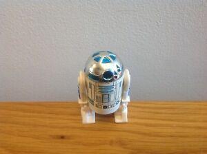 Vintage Star Wars HK COO R2D2 solid dome loose figure!