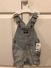Girls' Clothing (newborn-5t) Enthusiastic Lot Of 2 Baby Girls Oshkosh White Eyelet Shortalls Bibs Overalls Size 6 Months