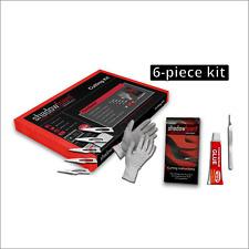 More details for shadow foam cutting kit | flexible foam glue, anti-cut gloves, scalpel + blades