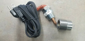 New Frost Plug 120V 400W Block Heater with Bushing for Kioti, Fits most tractors