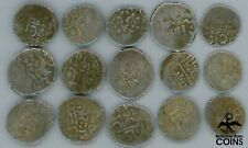 Lot of 15: Assorted Ancient Islamic Silver Coins (8.9 grams)