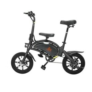 NEW SPECIAL B2 V1 Electric Bicycle 500w 48V 7.5Ah ebike 14inh tire Disc Break