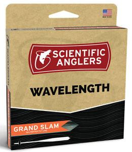 SA Wavelength Grand Slam WF-8 Floating Fly Line -  Yellow/Horizon -Free US Ship