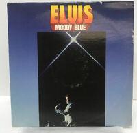 ELVIS Presley Moody Blue Vinyl Lp AFL1-2428 Album BLUE VINYL Record Victor RCA