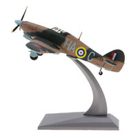 1:72 Scale Diecast Airplane WWII Hawker Hurricane Mk IIB Fighter Aircraft Model