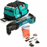 Makita DTM50Z 18v Oscillating Multi Tool With LXT600 Bag & 17 Pc Accessories