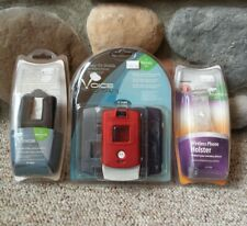 VTG Motorola RAZR Phone Accessories Retro NIB Shield - Holster - Case Bundle