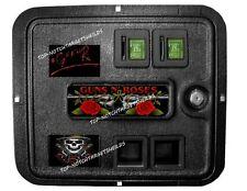 GUNS-N-ROSES COIN DOOR Pinball Mod-3 piece set