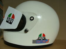 CASCO AGV DAYTONA MOTO AUTO EPOCA CORSA F1 GP 1975 POLICARBONATE MADE IN ITALY
