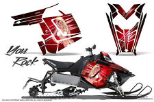 POLARIS RUSH PRO RMK 600/800 SLED SNOWMOBILE GRAPHICS KIT CREATORX WRAP YRR