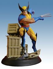MARVEL MILESTONES WOLVERINE UNLEASHED STATUE By ART ASYLUM ! MIB! X-MEN Bust TOY