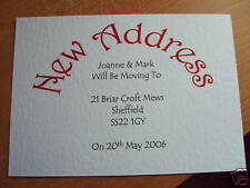 Home Address Moving House Cards Personalised 5pk WD