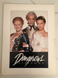 "Premier movie programs; ""Dangerously Liaisons"""