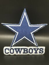 Dallas Cowboys Iron On Logo Embroidered Patch~Free Shipping from the U.S.A.~