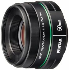 PENTAX Telephoto Focal Length Lens Da50Mmf1.8 K Mount Aps-C Size w/ Tracking