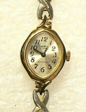 Vintage Cardinal Wrist Watch 17 Jewels Windup Funtional #6651