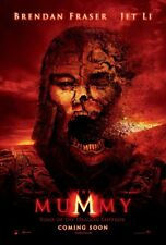 MUMMY 3 TOMB OF THE DRAGON EMPEROR MOVIE POSTER 2 Sided Advance 27x40