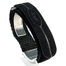 TERRAIN Hook and Loop Rip-Tab 16mm Ladies/boys Watch Strap black #2