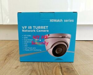 HIKVISION HiWatch IPC-T220-IZ 2.8-12mm Motorised VF 2MP IP Turret Camera POE IR