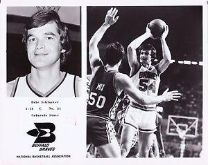 Vintage Dan Schlueter Buffalo Braves Team Issued 8x10 Basketball Photo