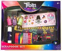 Trolls World Tour Scrapbook Craft Activity Set New Boys Girls Toy Gift 6+ Years