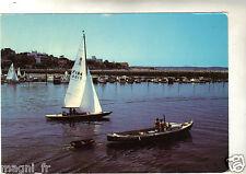 33 - cpsm - ARCACHON - Pinasse et voilier quittant le port de plaisance ( i1502)