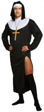 Adult Male Nun Fancy Dress Outfit Costume Funny Stag Do Night Sister Mens
