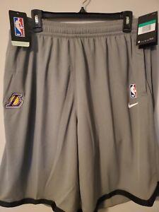 Nike X NBA LA Lakers  Practices Shorts [AV1808-002] DRI FIT Men's Sz XL-TALL