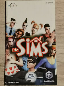 Die Sims Nintendo Gamecube Game Cube Manual Only Manual