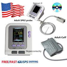 Digital Blood Pressure Monitorelectronic Sphygmomanometernibp Cuff Spo2 Probe