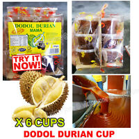 Durian Dodol Malaysia Famous Traditional Food 30g  6 CUPS Pack MUST TRY NOW