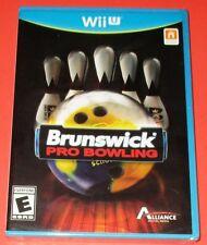 Brunswick Pro Bowling Nintendo Wii U *New! *Sealed! *Free Shipping!