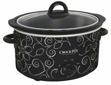 Crock-Pot SCV400PT Slow Cooker - Black/White