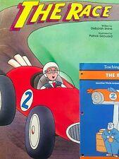 Teacher Big Book THE RACE / Guide & puppet Kindergarten 1st SHARED READ Opposite