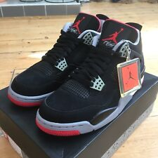 Nike Air Jordan 4 IV Retro Noir Ciment Bred UK 8.5