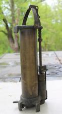 Brass Oil Thief Sampler for Crude Oil W. L. Walker Co. Tulsa Brass 70010