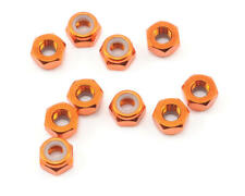 HPI Z868 4mm Aluminum Locknut Orange 10